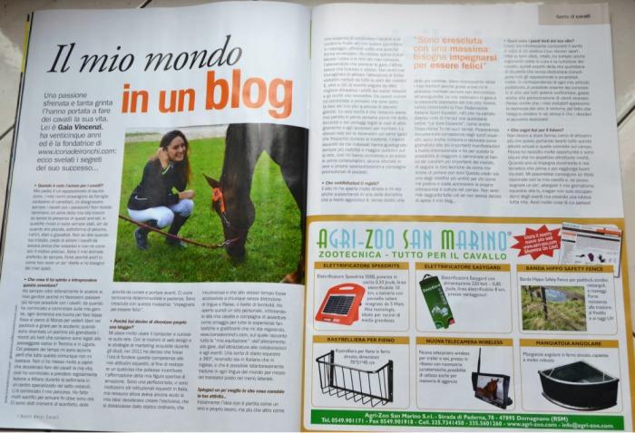 Gaia Vincenzi_intervista_I_Nostri_Amici_Cavalli