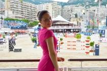 Gaia Vincenzi - Longines Global Champions Tour Monaco