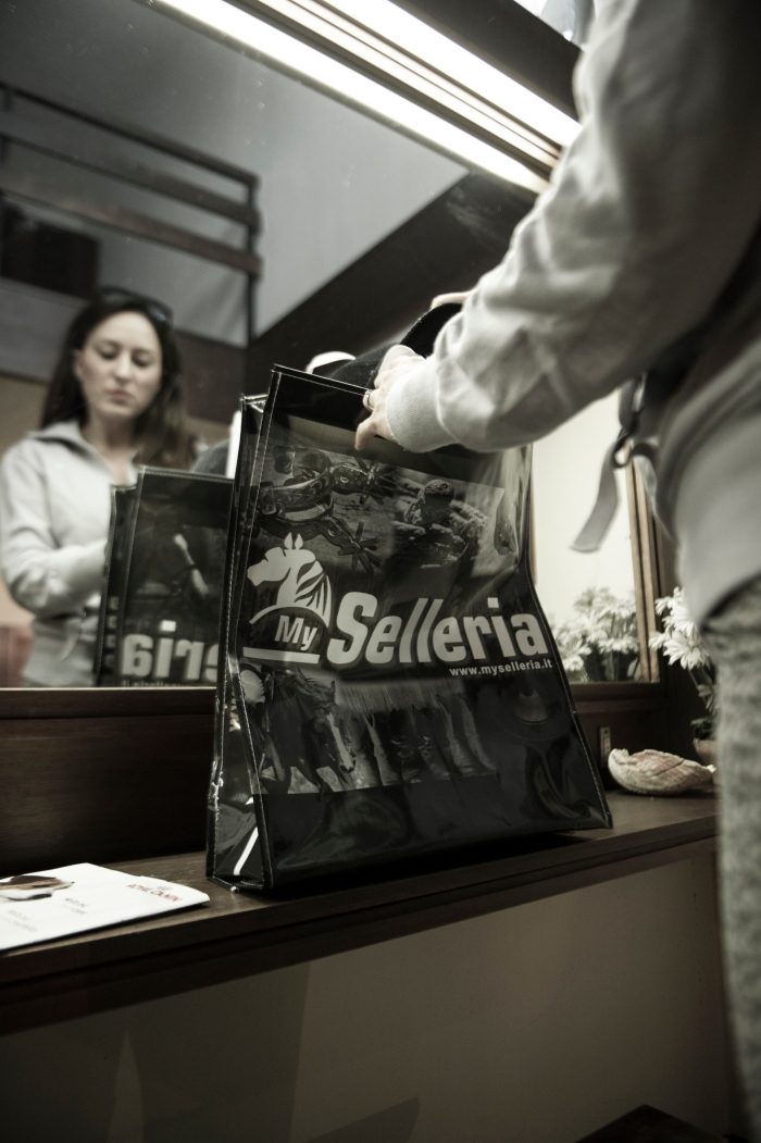 Gaia Vincenzi My Selleria shopper bag