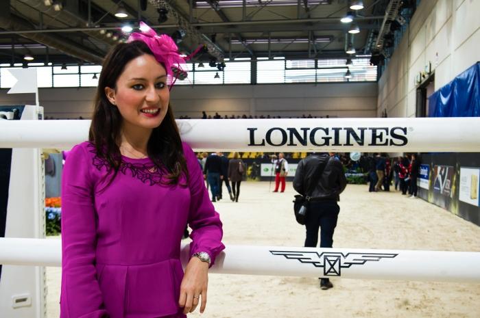 Gaia Vincenzi Longines Conquest Longines FEI World Cup Verona Fiera Cavalli 2013