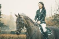 Gaia Vincenzi by Tristan Dark Horses - Castellazzo equestrian centre