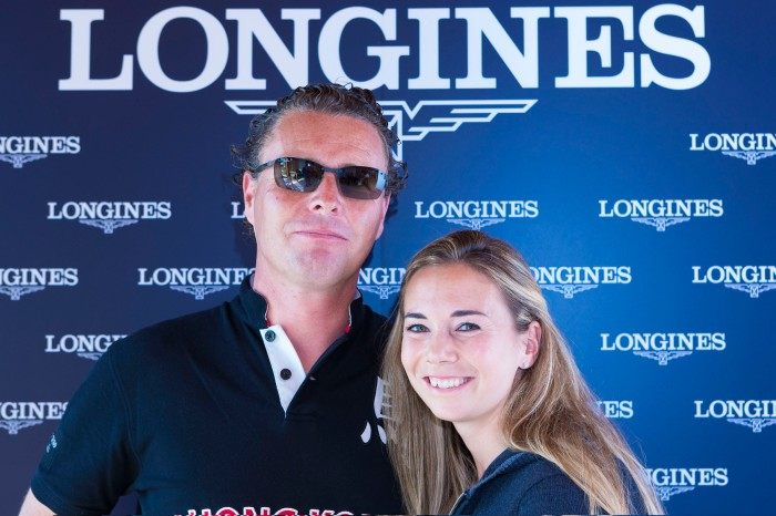 Ignace Philips & Jane Richard , Jane Richard Philips event by Longines