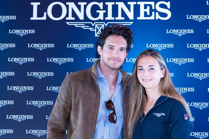 Riccardo Pozzoli & Jane Richard , Jane Richard Philips event by Longines