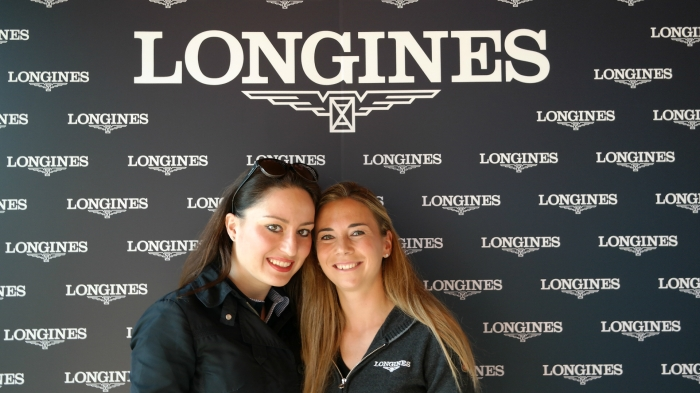 Gaia Vincenzi & Jane Richard , Jane Richard Philips event by Longines