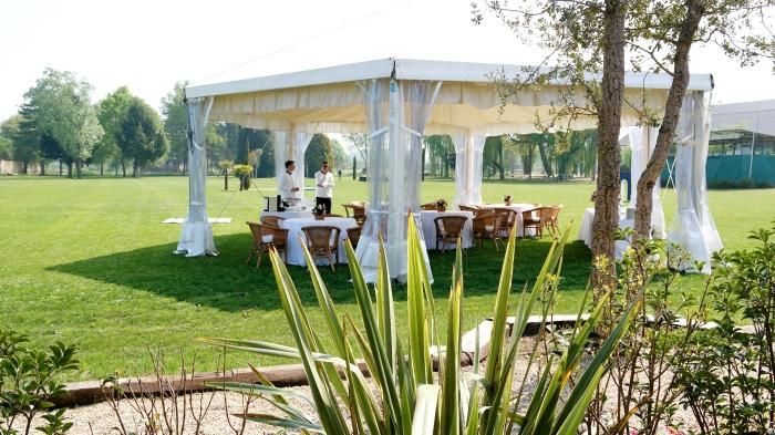 lunch at  Jane Richard Philips event by Longines – Campo Graziano Mancinelli, Centro Ippico La Madonnina