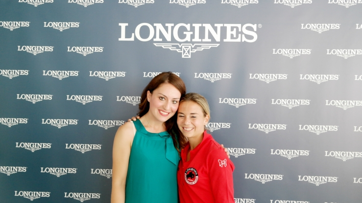 Gaia Vincenzi & Jane Richard Philips - Pro-Am Cup, Longines Global Champions Tour Monaco 2014