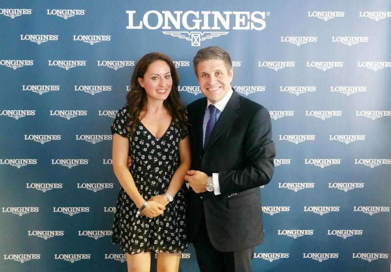 Gaia Vincenzi & Juan Carlos Capelli Vice President Longines Globaal Champions Tour Monaco Monte Carlo