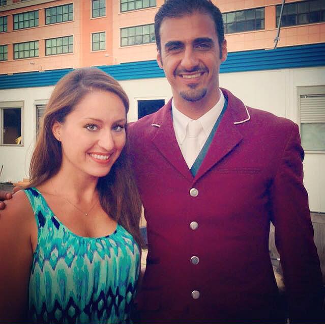 Gaia Vincenzi Sheikh Ali Bin Khalid Al-Thani Longines Global Champions Tour Monaco