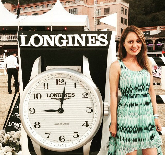 Gaia Vincenzi Longines Global Champions Tour Monaco