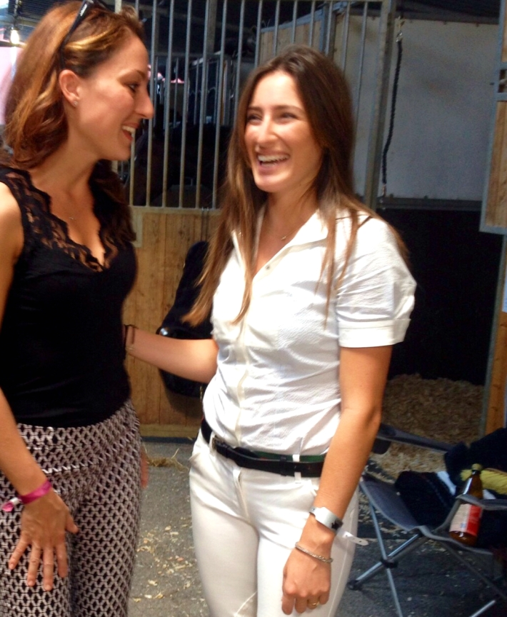 Gaia Vincenzi, Jessica Springsteen - Longines Global Champions Tour Rome