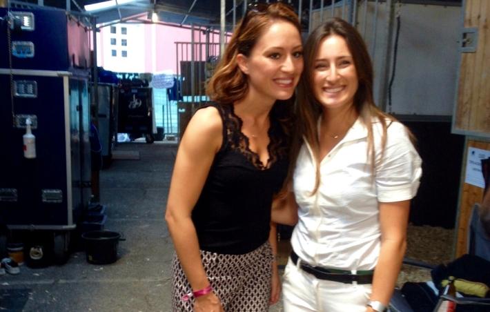 Gaia Vincenzi, Jessica Springsteen - Longines Global Champions Tour Rome