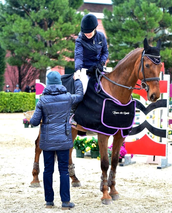 Gaia Vincenzi Icona dei Ronchi Equieffe Equestrian Centre