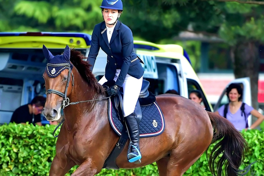 Gaia Vincenzi Kingsland Equestrian Equieffe