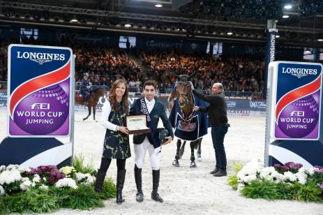 GP presented by Fixdesign - Abdel Said and Elisa Gasparini Longines Italy Brand Manager