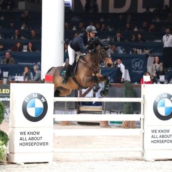 Premio BMW - Billy Twomey su Diaghilev Verona,12th nov.2016 ph.Stefano Grasso/Jumping Verona