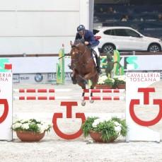 Premio Cavalleria Toscana - Juan Carlos Garcia su Moka de Mescam Verona,12th nov.2016 ph.Stefano Grasso/Jumping Verona