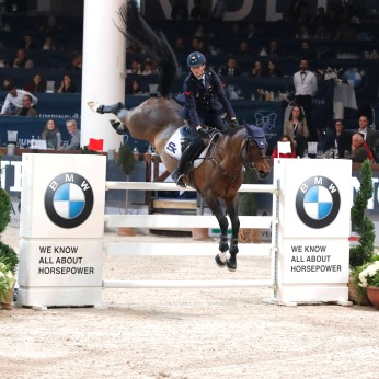 Premio BMW - Lorenzo De Luca su Amitages Boy Verona,12th nov.2016 ph.Stefano Grasso/Jumping Verona