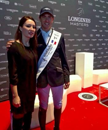 Gaia Vincenzi and Gregory Wathelet winner of Longines Grand Prix - Longines Masters de Paris