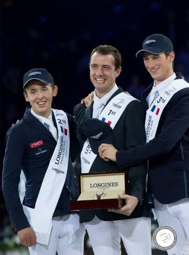 Bertam Allen, Gregory Wathelet, Daniel Deausser - Longines Grand Prix Longines Masters de Paris