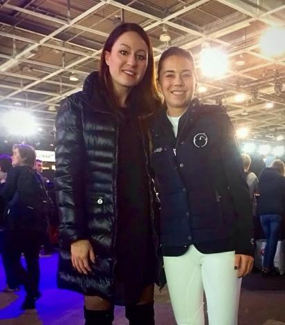 Gaia Vincenzi and Jane Richard Philips, Longines Ambassador - Longines Masters de Paris