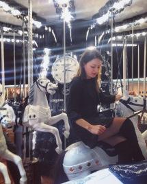 Gaia Vincenzi Longines carousel - Longines Masters de Paris