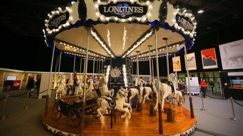 Longines carousel - Longines Masters de Paris