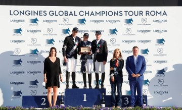 Jan Tops Francesca Ginocchio Longines Global Champions Tour Grand Prix of Rome