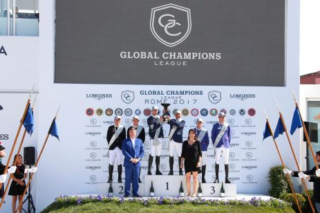 Prize giving Global Champions League
