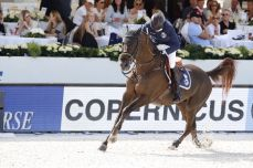 Eric Lamaze on Chacco Kid - team Hamburg Diamonds, Global Champions League
