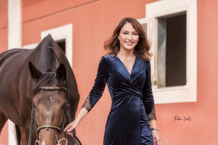 Gaia Vincenzi Tristan Dark Horses Longines Scuderia Monteleone