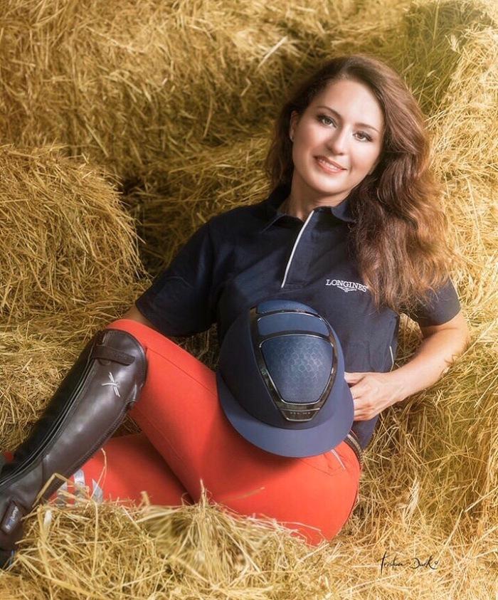 Gaia Vincenzi Kask equestrian star lady tristan dark horses scuderia monteleone