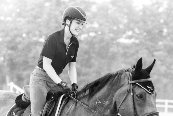 Gaia Vincenzi Scuderia Monteleone Tristan Dark Horses Freejump Kask Longines