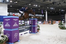 Longines FEI World Cup™ Jumping Verona Daniel Deusser and Calisto Blue (GER)Photo FEI/ Massimo Argenziano