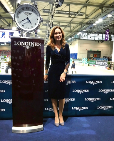 Gaia Vincenzi Lognines FEI World Cup Verona Fieracavalli