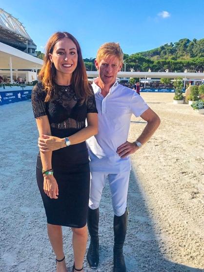 Gaia Vincenzi Marcus Hening Longines Global Champions Tour Roma