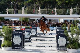 Marlon Módolo Zanotelli on VDL Edgar M Longines Global Champions Tour Rome