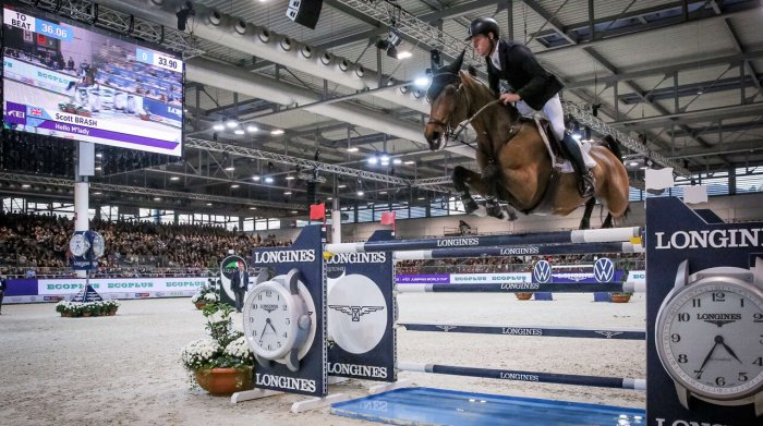 Scott Brash Hello M' Lady Longines FEI World Cup Verona