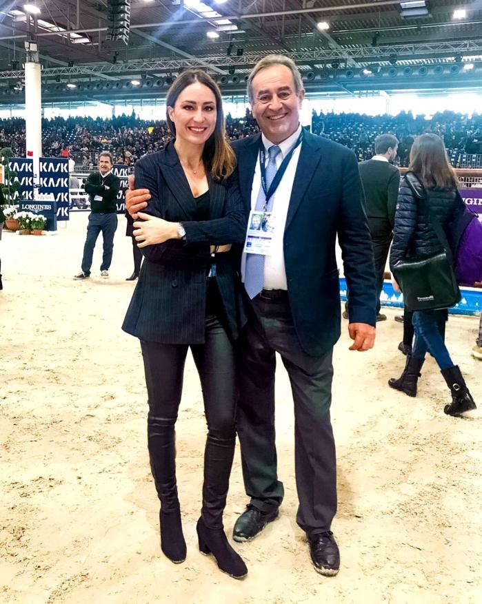 Gaia Vincenzi Uliano Vezzani Longines FEI World Cup Jumping Verona Fieracavalli