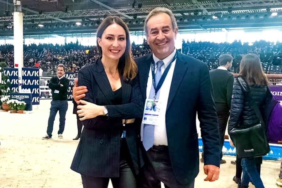 Gaia Vincenzi Uliano Vezzani Longines FEI World Cup Verona
