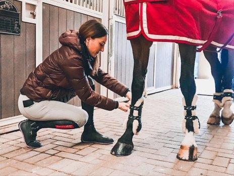 Gaia Vincenzi Zandonà Equestrian carbon air sensitive