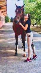 Gaia Vincenzi with Lipgloss - Circolo Ippico Scuderia Monteleone
