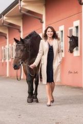 Gaia Vincenzi by Tristan Dark Horses - Scuderia Monteleone stables
