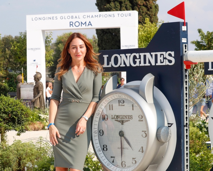 Gaia Vincenzi Longines Global Champions Tour Rome